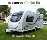 Swift Conqueror 480 2011 2 berth Caravan Thumbnail