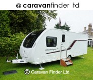 Swift Challenger 580 SE 2014 4 berth Caravan Thumbnail